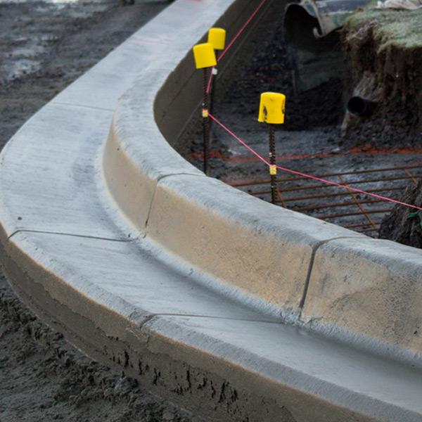 Concrete-Kerbing